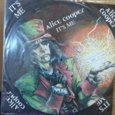 Discos de vinilo: ALICE COOPER - IT´S ME - MAXI EP - PICTURE DISC - FOTODISCO - LIMITED EDITION 4TRACK. Lote 102624095