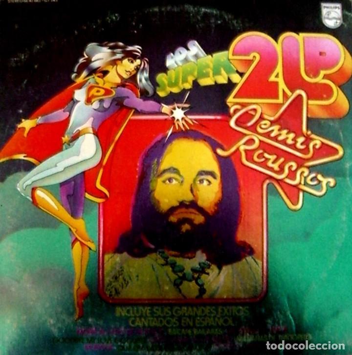 LP DOBLE DEMIS ROUSSOS (Música - Discos de Vinilo - EPs - Pop - Rock Internacional de los 70)