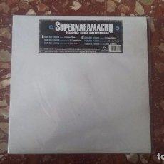 Discos de vinilo: VINILO MX SUPERNAFAMACHO - HASTA QUE AMANECE. (CPV) RAP, HIP HOP ESPAÑOL.. Lote 102633679