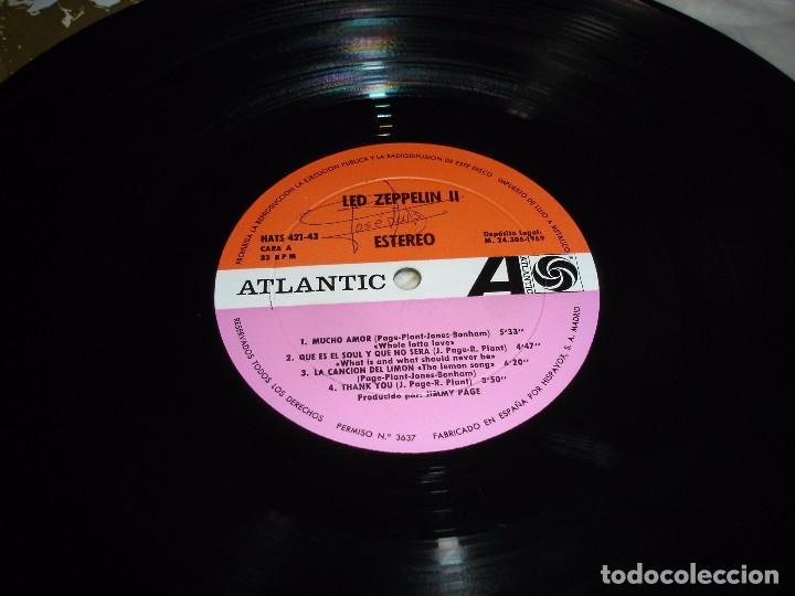 Discos de vinilo: LED ZEPPELIN II: LP. ATLANTIC 1969 (EDICION ORIGINAL ESPAÑOLA) - Foto 2 - 102643919