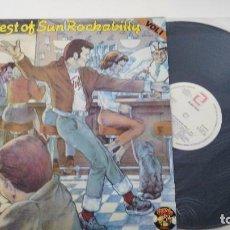 Discos de vinilo: ANTIGUO DISCO DE THE BEST OF SUN ROCKABILLY . Lote 102644799