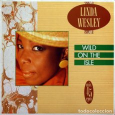 Discos de vinilo: LINDA WESLEY - WILD ON THE ISLE - ZAFIRO - OOS-871 SPAIN. Lote 102648951