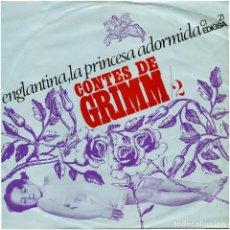 Discos de vinilo: TEATRE INDEPENDENT DEL C.I.C.F. – CONTES DE GRIMM /2 - SG SPAIN 1966 - EDIGSA CI 21 - J. FORNAS. Lote 102666855