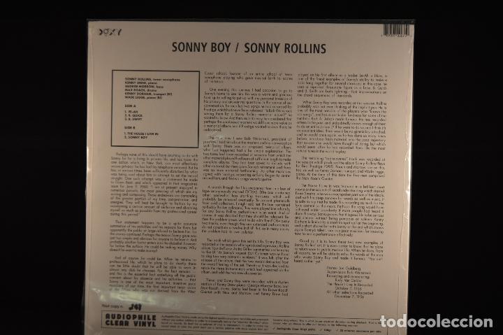 Discos de vinilo: Sonny Rollins - Sonny Boy - LP REEDICION - Foto 2 - 102681799