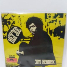 Dischi in vinile: EP ** JIMI HENDRIX ** HEY JOE ** COVER / EXCELLENT (EX) ** EP / VERY GOOD+/ EXCELLENT (VG+/EX) 1967. Lote 102688191