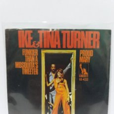 Discos de vinilo: SINGLE ** IKE & TINA TURNER *PROUD MARY *COVER/VERY GOOD+/EXCELLENT *SINGLE/ VERYGOOD+/EXCELLENT * . Lote 102691039