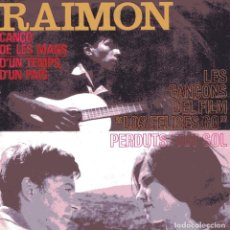 Discos de vinilo: RAIMON / D'UN TEMPS, D'UN PAIS + 3 (EP 1964). Lote 102706071