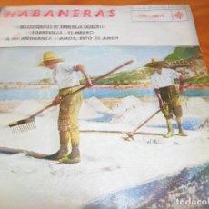 Discos de vinilo: FESTIVAL DE HABANERAS MASAS CORALES DE TORREVIEJA (ALICANTE)- EP 1962. Lote 102708931