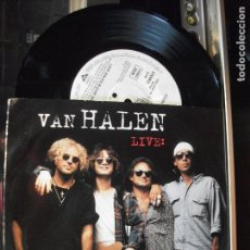 Discos de vinilo: VAN HALEN ( JUMP , LIVE+ LOVE WALKS IN ) SINGLE WB 1993 COMO NUEVO¡¡. Lote 102708963