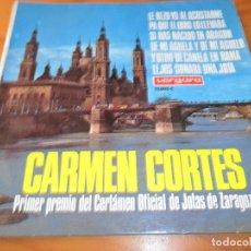 Discos de vinilo: JOTAS - CARMEN CORTES- PA QUE EL EBRO LO LLEVARA/ DE MI AGUELA Y DE MI AGUELO/ +4 - EP 1967. Lote 102709647
