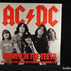 Discos de vinilo: AC/DC - KICKED IN TEETH - AC/DC – LIVE AT OLD WALDORF IN SAN FRANCISCO SEPTEMBER 3, 1977 - LP. Lote 102712111