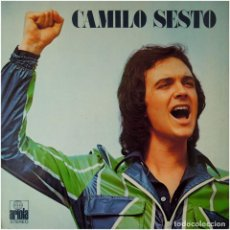 Discos de vinilo: CAMILO SESTO – 3ER. ÁLBUM - LP SPAIN 1973 - ARIOLA 82.221-1 + POSTER GIGANTE. Lote 187323837
