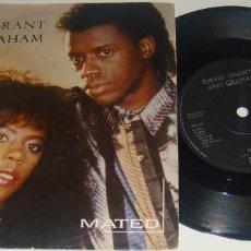 Discos de vinilo: SINGLE - DAVID GRANT & JAKI GRAHAM - MATED / THE FACTS OF LOVE - JAKI GRAHAM - DAVID GRANT. Lote 102717667