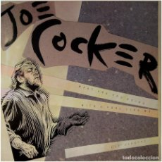 Discos de vinilo: JOE COCKER – WHAT ARE YOU DOING WITH A FOOL LIKE ME - MX SPAIN 1990 - CAPITOL RECORDS 052 20382. Lote 102719487