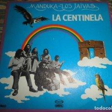 Discos de vinilo: MANDUKA LOS JAIVAS - LA CENTINELA - SINGLE PROMOCIONAL ORIGINAL ESPAÑOL - MOVIEPLAY / GONG 1979. Lote 102723811
