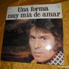 Discos de vinilo: RAPHAEL. UNA FORMA MUY MIA DE AMAR. GAMMA / HISPAVOX, 1978. CON ENCARTES. IMPECABLE. Lote 102726059