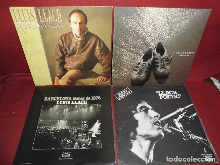 MAGNIFICOS 10 LPS DE LLUIS LLACH (Música - Discos - LP Vinilo - Cantautores Españoles)