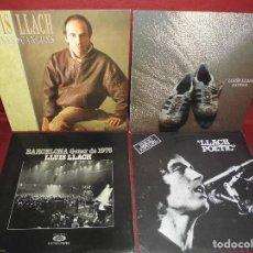 Discos de vinilo: MAGNIFICOS 10 LPS DE LLUIS LLACH. Lote 102729235