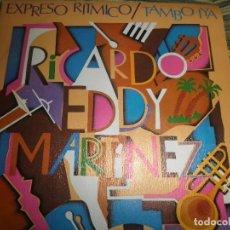 Discos de vinilo: RICARDO EDDY MARTINEZ - EXPRESO RITMICO - SINGLE PROMOCIONAL ORIGINAL ESPAÑOL - MOVIEPLAY 1979 -. Lote 102730047