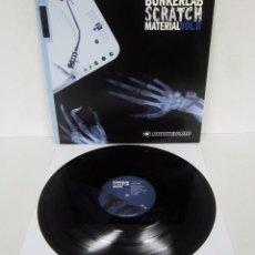 Discos de vinil: BUNKERLAB SCRATCH MATERIAL VOL.II - LP - D.L. Nº B-50337 - 2007 DJ PROMO HIP HOP. Lote 102735627