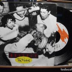 Discos de vinilo: RESPECT / TEN PIEDAD ( SINGLE PROMO 1992 ). Lote 102737339