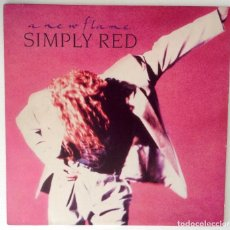 Discos de vinilo: SIMPLY RED A NEW FLAME LP VINILO. Lote 102738947
