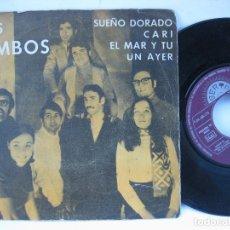 Discos de vinilo: LOS BIMBOS - EP SPAIN PS - SUEÑO DORADO - BERTA LABEL - PROMO. Lote 102742471