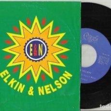 Discos de vinilo: ELKIN & NELSON SINGLE PROMOCIONAL SAMBA,SAMBA - 1991 . Lote 102745019