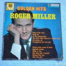 Discos de vinilo: ROGER MILLER,GOLDEN HITS EDICION INGLESA. Lote 102763003