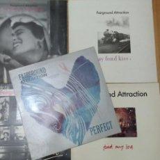 Discos de vinilo: FAIRGROUND ATTRACTION LOTE LP'S Y MAXIS. Lote 102775499