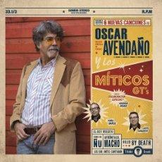 Discos de vinilo: OSCAR AVENDAÑO (SINIESTRO TOTAL) Y LOS MITICOS GT´S - CON HENDRIK ROVER - 10 INCH TRILOBITE RECORDS. Lote 102779215