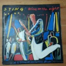 Discos de vinilo: STING -BRING ON THE NIGHT-DOBLE LP. Lote 102790579