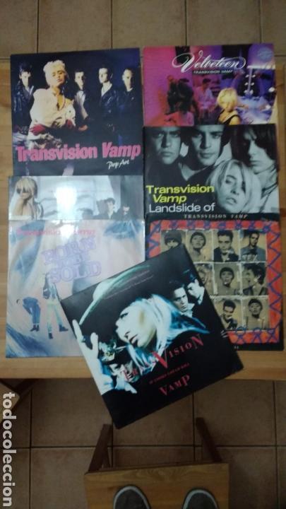 TRANSVISION VAMP -LOTE LP'S Y MAXIS- (Música - Discos - LP Vinilo - Pop - Rock Extranjero de los 90 a la actualidad)