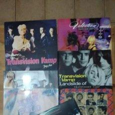 Discos de vinilo: TRANSVISION VAMP -LOTE LP'S Y MAXIS-. Lote 102792314