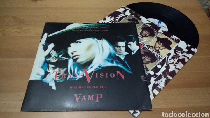 Discos de vinilo: Transvision Vamp -Lote lp's y maxis- - Foto 4 - 102792314