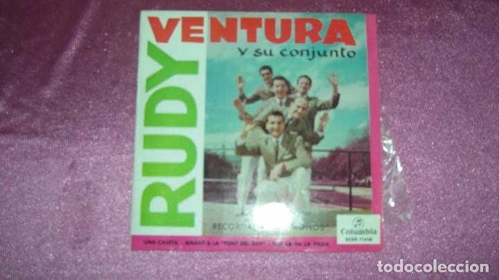 RUDY VENTURA Y SU CONJUNTO - RECORDANT LA MOÑOS Y TRES MAS, COLUMBIA 1960 (Música - Discos - Singles Vinilo - Grupos Españoles 50 y 60)