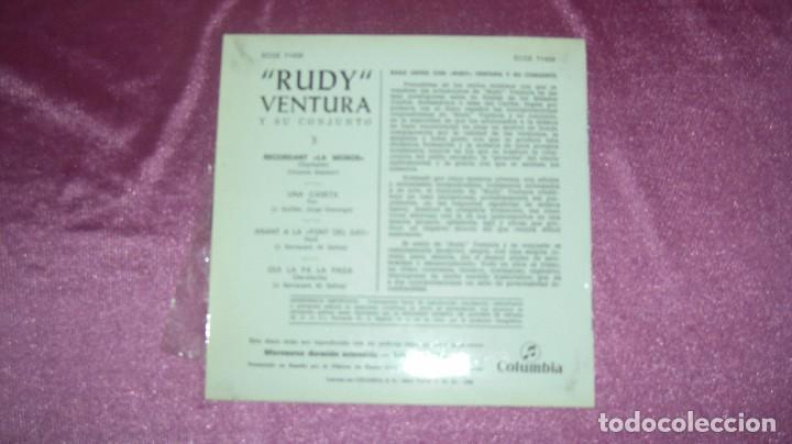 Discos de vinilo: RUDY VENTURA Y SU CONJUNTO - RECORDANT LA MOÑOS Y TRES MAS, COLUMBIA 1960 - Foto 2 - 102792923