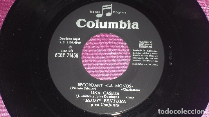 Discos de vinilo: RUDY VENTURA Y SU CONJUNTO - RECORDANT LA MOÑOS Y TRES MAS, COLUMBIA 1960 - Foto 6 - 102792923