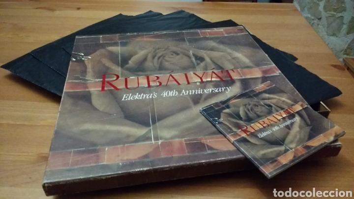 RUBÁIYÁT -ELEKTRA'S 40TH ANNIVERSARY- 4 LP'S (Música - Discos - LP Vinilo - Pop - Rock Extranjero de los 90 a la actualidad)