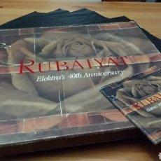 Discos de vinilo: RUBÁIYÁT -ELEKTRA'S 40TH ANNIVERSARY- 4 LP'S. Lote 102793196