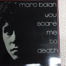 Discos de vinilo: LP YOU SCARE ME TO DEATH. Lote 102803899