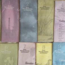 Discos de vinilo: 11 LPS COLECCIÓN COMPLETA. Lote 102805939