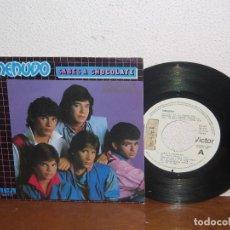 Discos de vinilo: MENUDO (RICKY MARTIN) 7´´ MEGA RARE PROMO WHITE LABEL SPAIN 1984. Lote 102810847