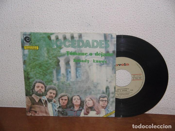 MOCEDADES 7´´ MEGA RARE VINTAGE SPAIN 1974 (Música - Discos - Singles Vinilo - Country y Folk)