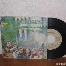 Discos de vinilo: MOCEDADES 7´´ MEGA RARE VINTAGE SPAIN 1974. Lote 102812223