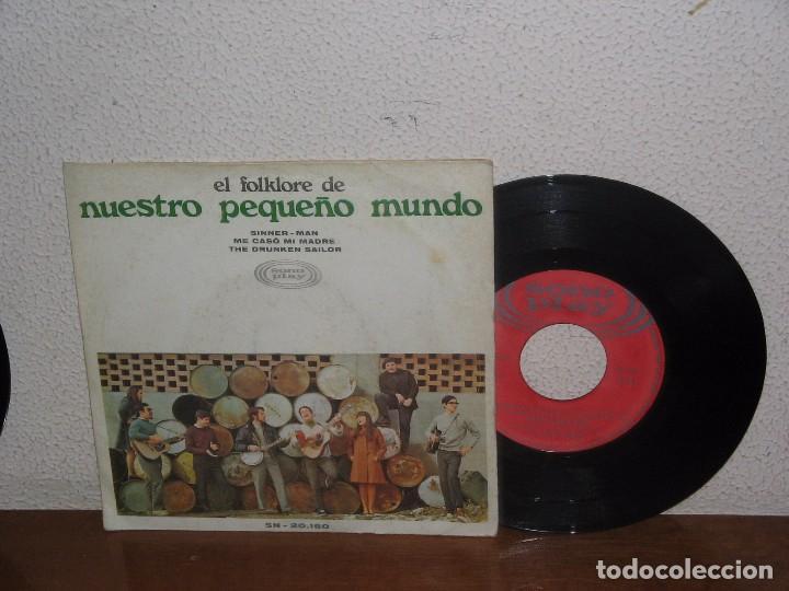 NUESTRO PEQUEÑO MUNDO 7´´ MEGA RARE EXTENDED PLAY SPAIN 1968 (Música - Discos de Vinilo - EPs - Country y Folk)