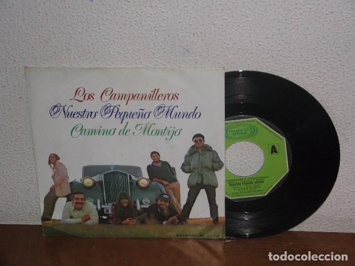 NUESTRO PEQUEÑO MUNDO 7´´ MEGA RARE VINTAGE SPAIN 1973 (Música - Discos - Singles Vinilo - Country y Folk)