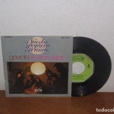 Discos de vinilo: NUESTRO PEQUEÑO MUNDO 7´´ MEGA RARE VINTAGE SPAIN 1976. Lote 102814007