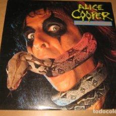 Discos de vinilo: LP ALICE COOPER CONSTRICTOR- MCA RECORDS USA 1986. Lote 102818663