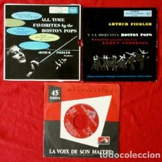 Discos de vinilo: LOTE BOSTON POPS (3 EPS) (BUEN ESTADO) BOSTON POPS ORCHESTRA - ARTHUR FIEDLER. Lote 102838439